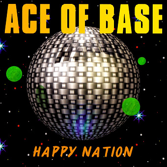 Ace of Base - Happy Nation notas para el fortepiano