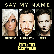 David Guetta etc. - Say My Name notas para el fortepiano