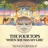 The Four Tops - When She Was My Girl notas para el fortepiano