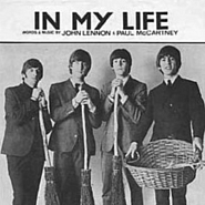 The Beatles - In My Life notas para el fortepiano