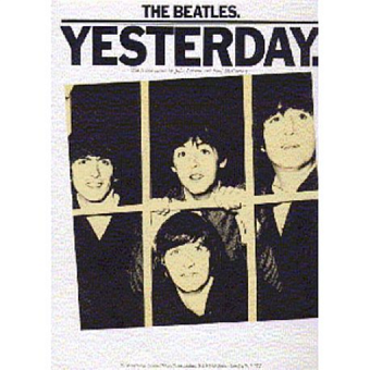 The Beatles - Yesterday notas para el fortepiano