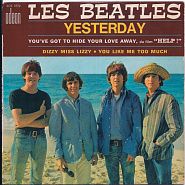 The Beatles - You've Got to Hide Your Love Away notas para el fortepiano