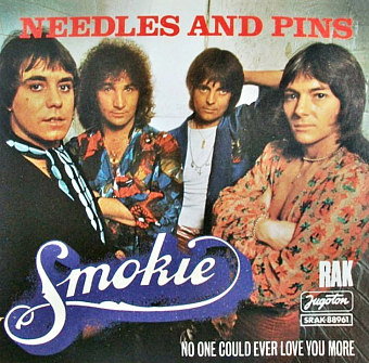 Smokie - Needles and Pins notas para el fortepiano