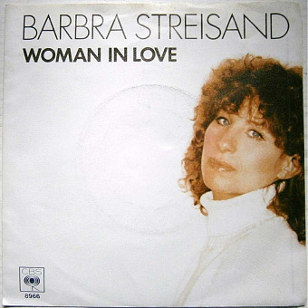 Barbra Streisand - Woman in Love notas para el fortepiano