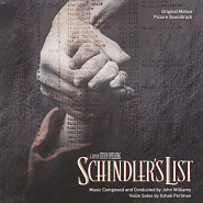 John Williams - Schindler's List notas para el fortepiano