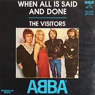 ABBA - When All Is Said And Done notas para el fortepiano