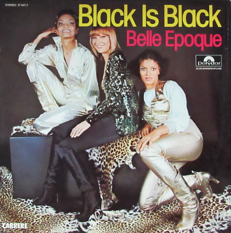 Belle Epoque - Black Is Black notas para el fortepiano