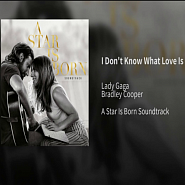 Lady Gaga etc. - I Don't Know What Love Is notas para el fortepiano
